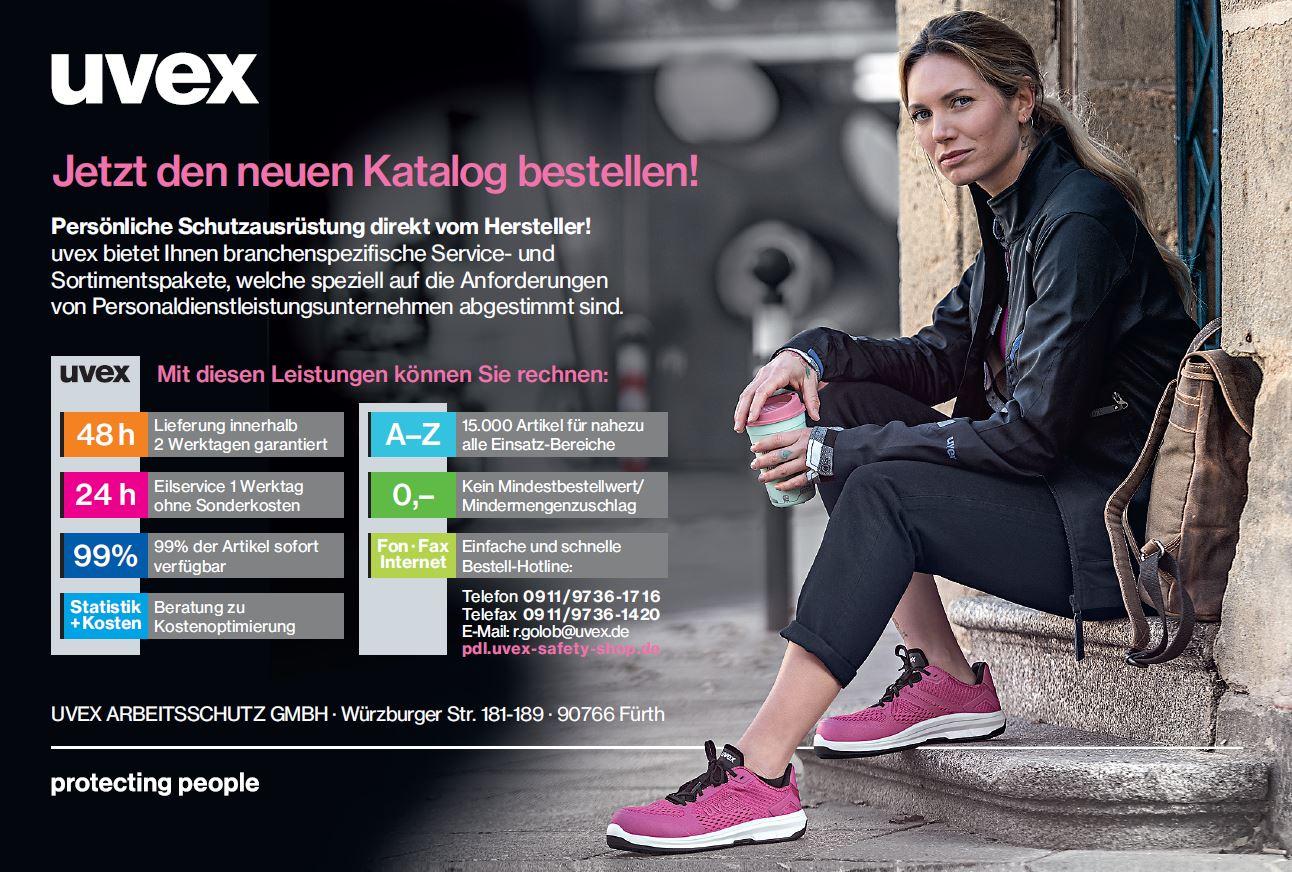 UVEX neuer Produktkatalog 2021